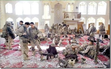 ABD ASKERLERI IRAK FELLUCE CAMI ISGALI