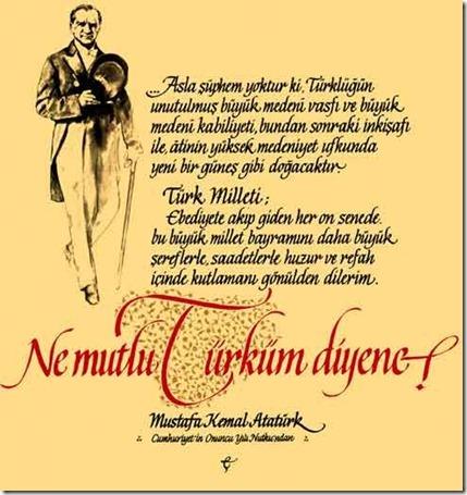İngilizce Atatürk Sözleri