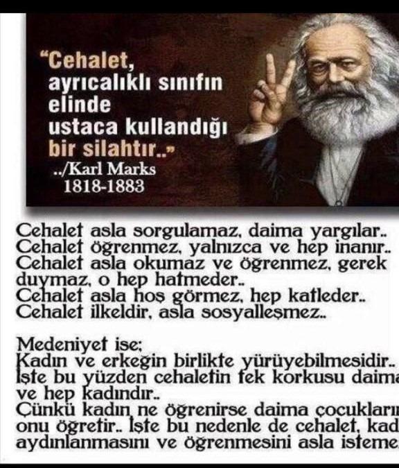 Cehalet Karl Marks Ahsen Okyar