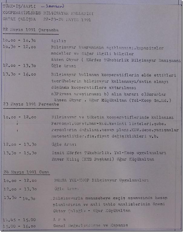 1991.05.22 türk-iş  aaflı samsun