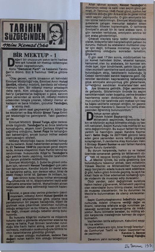 1991.07.26 tercüman gazetesi