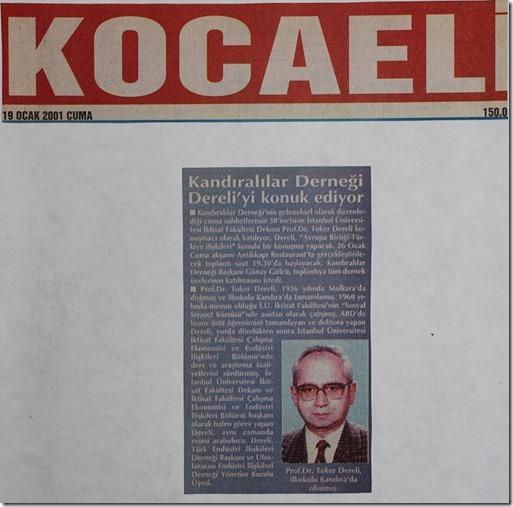 2001.01.19 kocaeli gazetesi cuma 1
