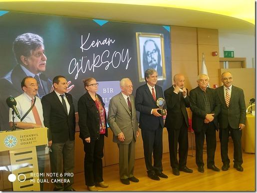 Kültür Konseyi Yönetim Kurulu ve Prof. Dr. Kenan Gürsoy